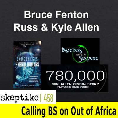 Bruce Fenton on UFO/ET Contact 780,000 Years Ago |458|